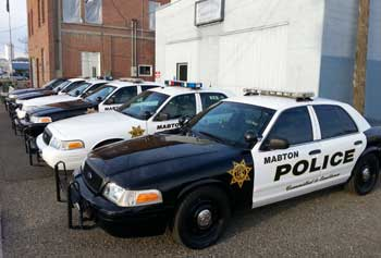 City of Mabton Police Cars