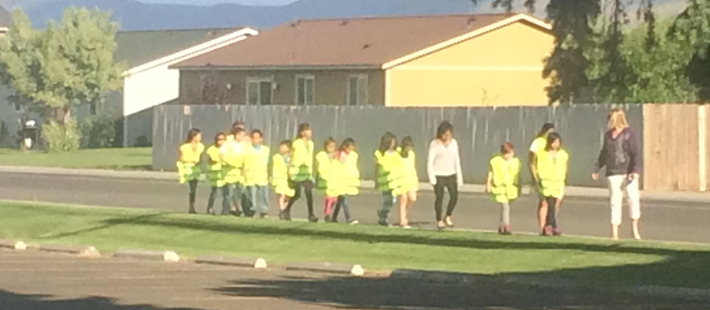 Safe Routes to Schools Training for Elementary School students in Mabton