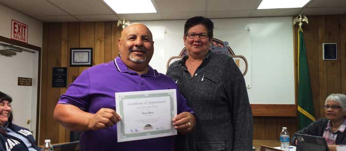 Sam Rios April 2016 Beautification Award Recipient - Home of the Month